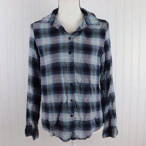 Romeo + Juliet Plaid Button Up Shirt